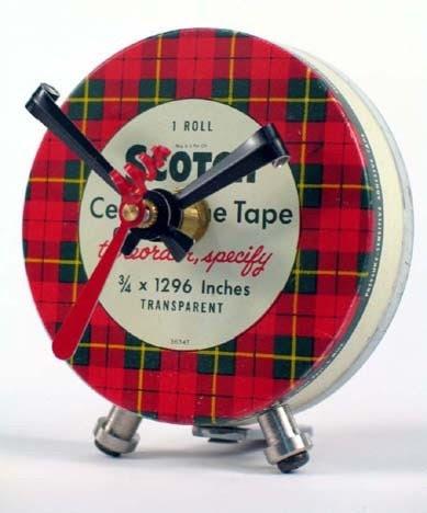Scotch Tape Clock No. 5