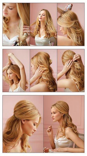 Acconciature fai da te per capelli lunghi e mossi Hairadvisor - acconciature capelli lunghi mossi fai da te