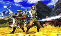 Mario y Link se dejan ver en Monster Hunter 4
