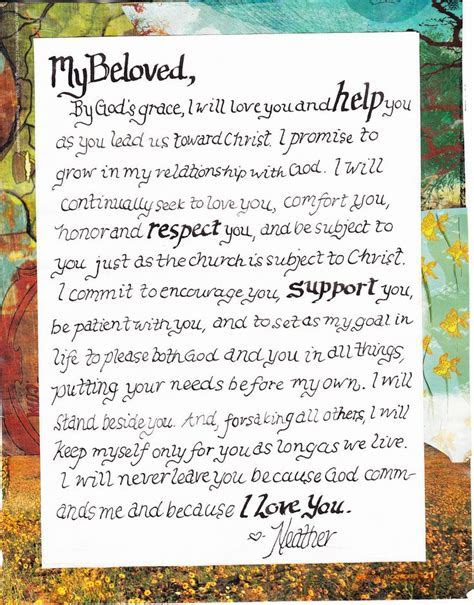 25  Best Ideas about Christian Wedding Vows on Pinterest