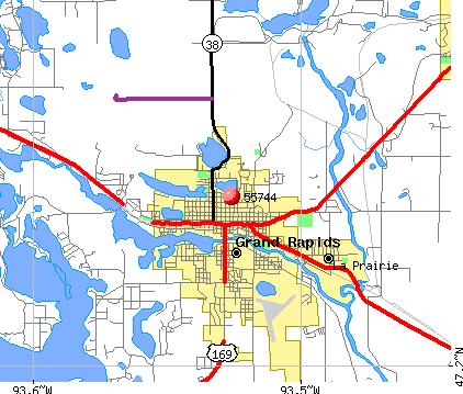 Grand Rapids Zip Code Map Grand Rapids Zip Code Map | States Maps
