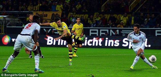 Goneski: Robert Lewandowski has confirmed his 2014 move from Borussia Dortmund to Bayern Munich