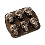Nordic Ware Haunted Skull Cakelet Pan - 89448