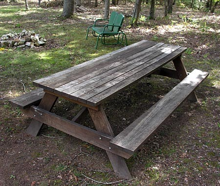 Here 8 foot cedar picnic table plans diy wood plans for 8 picnic table plans