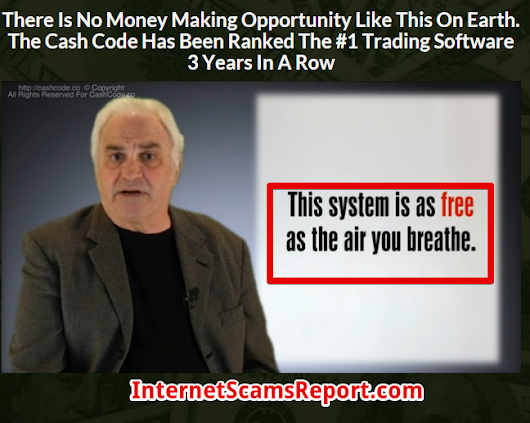 Is Cash Code a Scam? - Robert Allan Trying to Brainwash You - Internet Scams Report