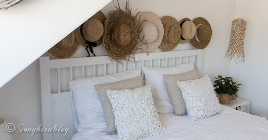 White Boho Bedroom with a Beachy Vibe - Songbird