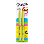 Sharpie Accent - Highlighter - fluorescent yellow - pack of 2