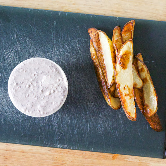 Greek Yogurt Garlic Kalamata Aioli | Lemon & Olives | Greek Food & Culture Blog