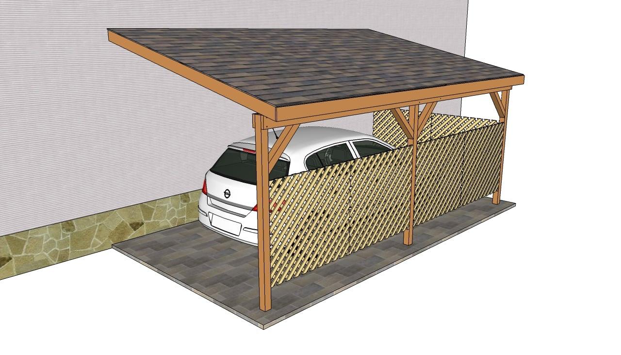 Attached Carport Designs