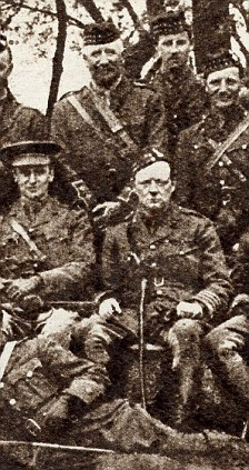 At war: Lieutentant Colonel Winston Churchill with the 6th Battalion, The Royal Scottish Fusiliers, during the First World War