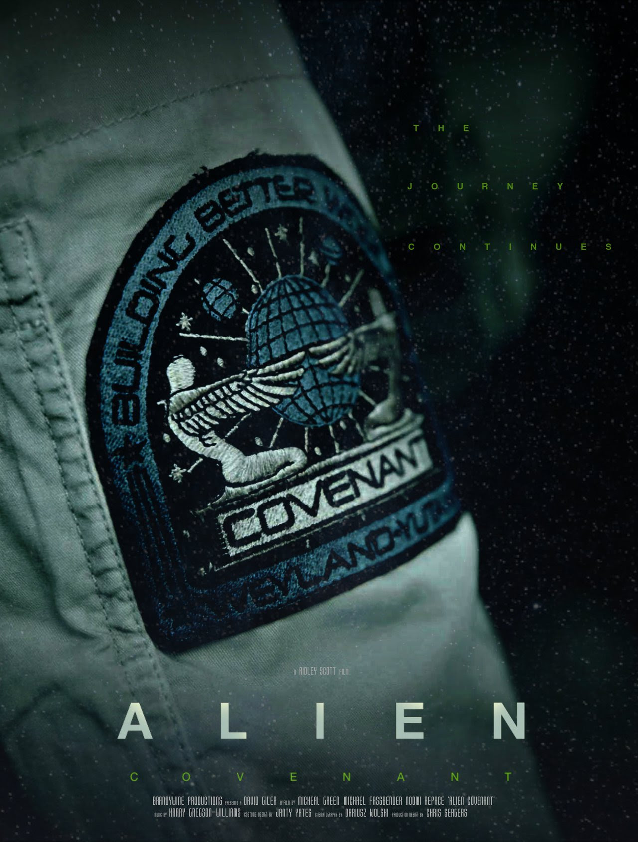 Resultado de imagem para Alien: Covenant posters
