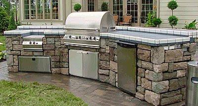 Modern Interior How To Make An Outdoor Kitchen
