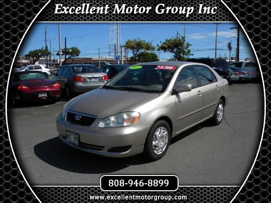 Used 2005 Toyota Corolla LE for Sale in Honolulu HI 96817 Excellent Motor Group Inc