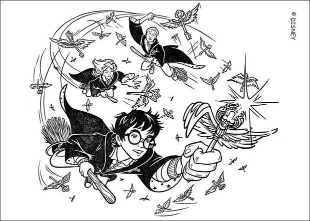 Coloriages Harry Potter Coloriages Coloriage à Imprimer Gratuit