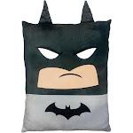 Warner Bros.†Batman 24†Square 3D Ultra Stretch Travel Cloud Pillow
