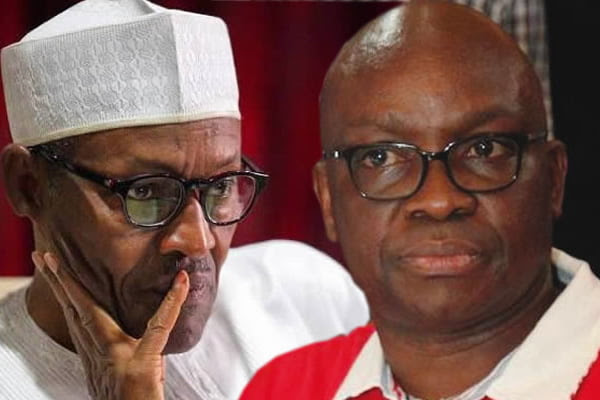 Buhari is Nigeria's father of corruption – Fayose