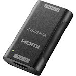 Insignia - HDMI Cable Repeater - Black