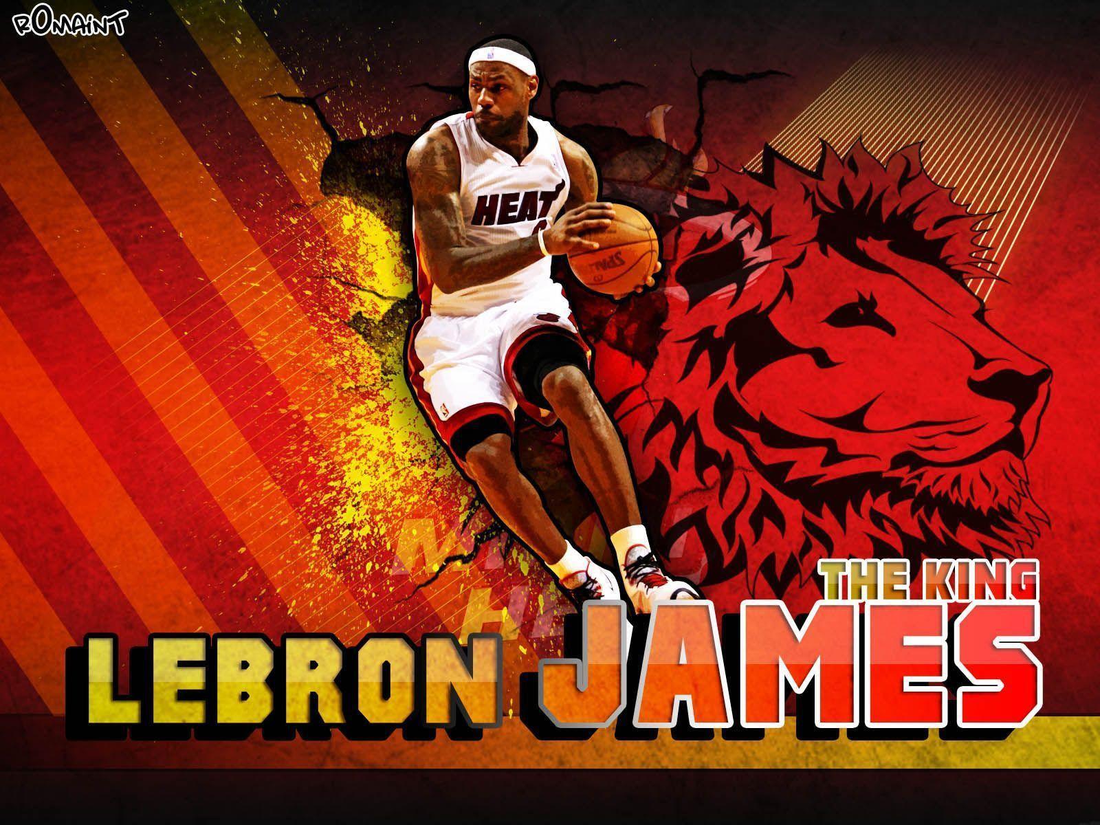 Lebron James Wallpapers Miami Heat - Wallpaper Cave