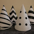 Custom Paper Party Hats - 10 Hats