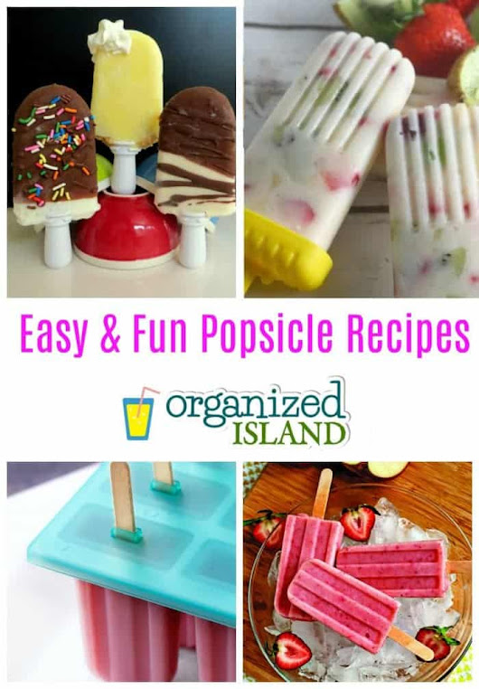Popsicle Recipes for Summer -