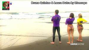 Laura Dutra sensual em biquini