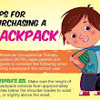 Today is National School Backpack Awareness Day