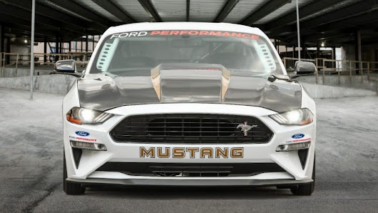 Ford's 50th Anniversary Mustang Cobra Jet Is The Hottest, Fastest, Most Powerful Drag Racing Mustang Ever
