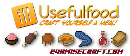 Usefulfood Mod for Minecraft (1.9/1.8.9/1.7.10)