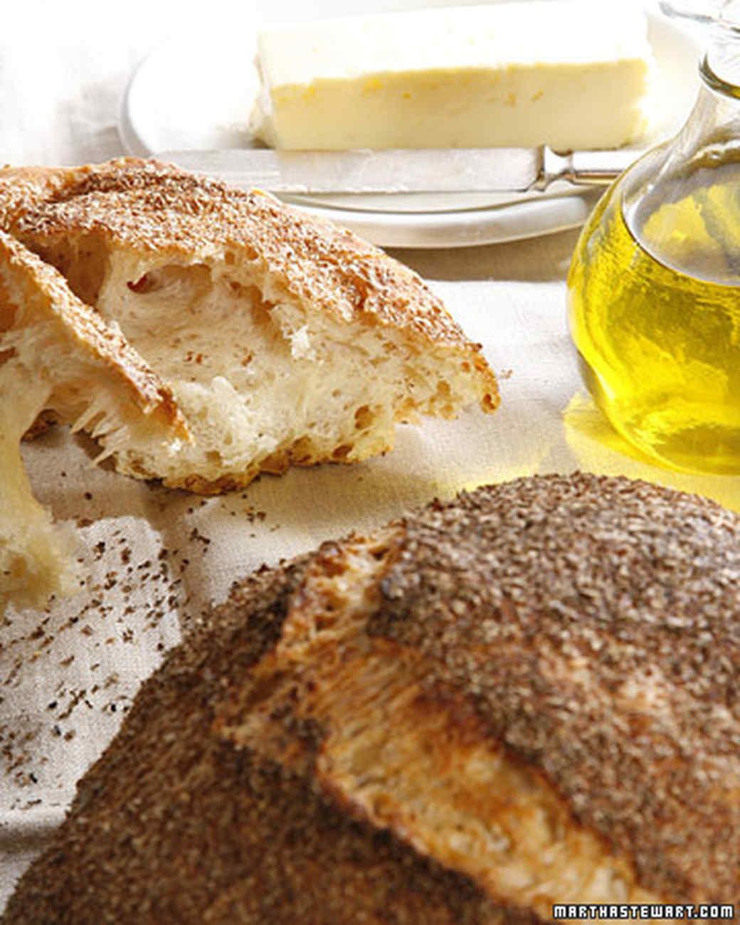 No-Knead Bread Recipe & Video | Martha Stewart