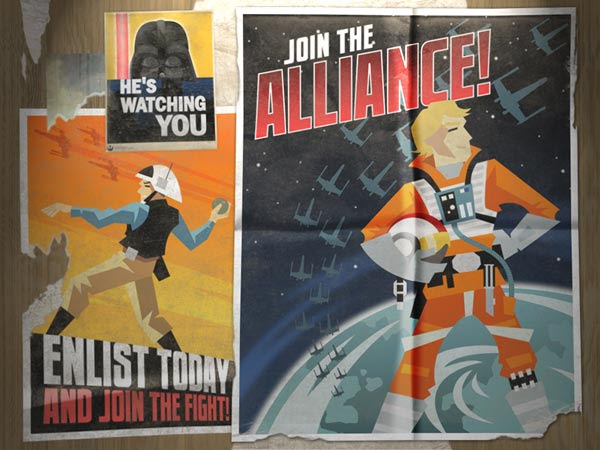 Join the Rebel Alliance Star Wars Poster