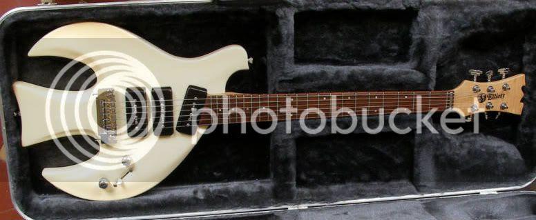T.F. Elliott White Dove guitar