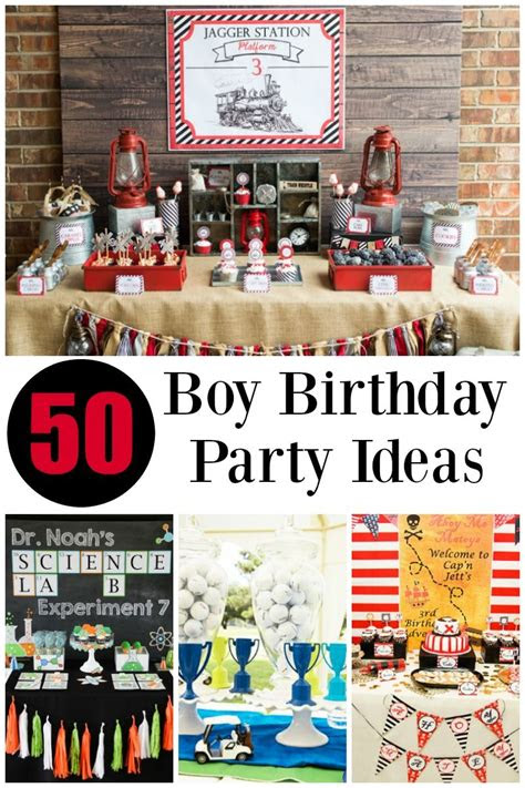 boy birthday party ideas boy birthday