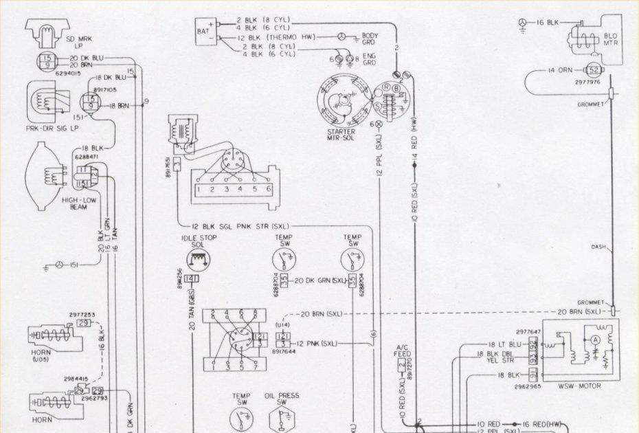 84 Camaro Ignition Wiring Diagram