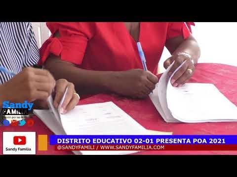 (VER VÍDEO) Distrito Educativo 02-01 presenta POA 2021