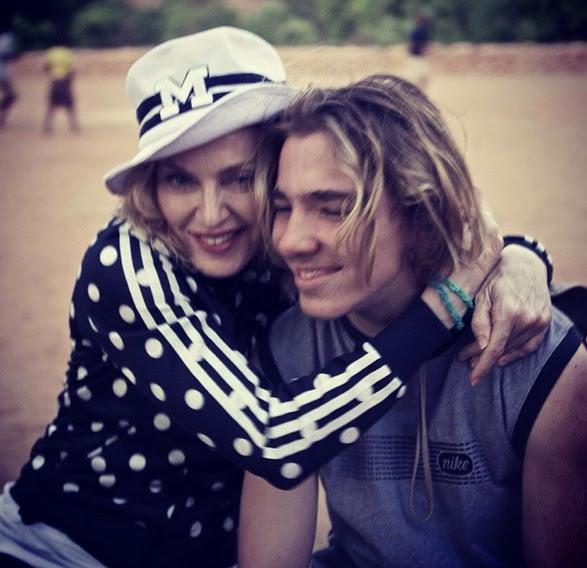 Madonna e Rocco Ritchie (Foto: Instagram)
