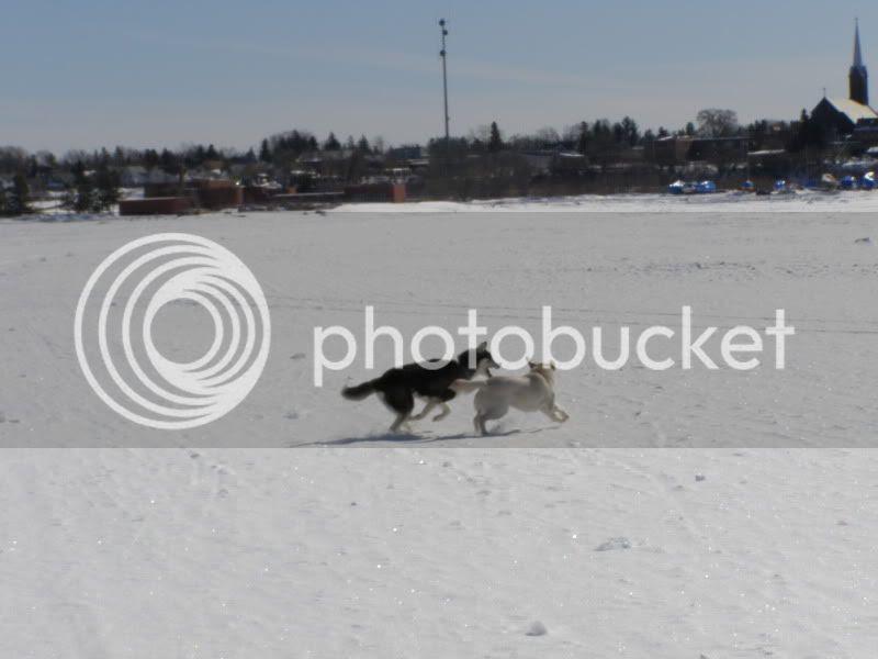 Running on Lake Superior