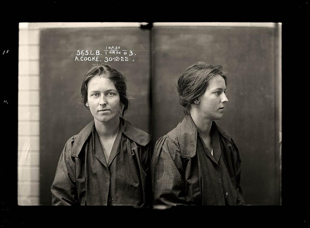 photo police sydney australie mugshot 1920 04 Portraits de criminels australiens dans les années 1920  photo photographie histoire featured art