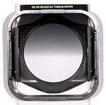 Graduated Neutral Density filter in a Cokin holder