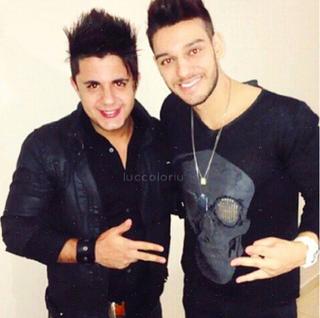 Cristiano Araújo e Lucas Lucco (Foto: Reprodução/Instagram)