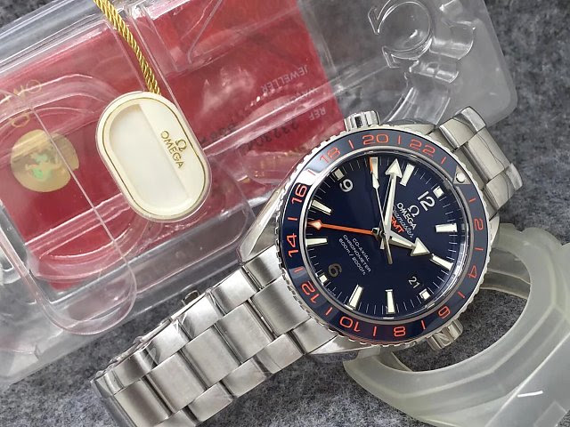Omega Planet Ocean GMT with Package