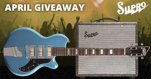 Supro Guitar Rig Giveaway - Enter Now!
