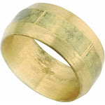 Anderson Metals 730060-03 Brass Compression Fitting 3/16""