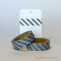Grey Diagonal Stripes Washi Tape   WashiTapesNL www.washitapes.nl #washitape #maskingtape