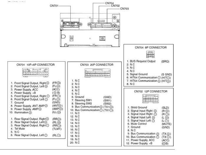 33 Panasonic Car Stereo Wiring Diagram