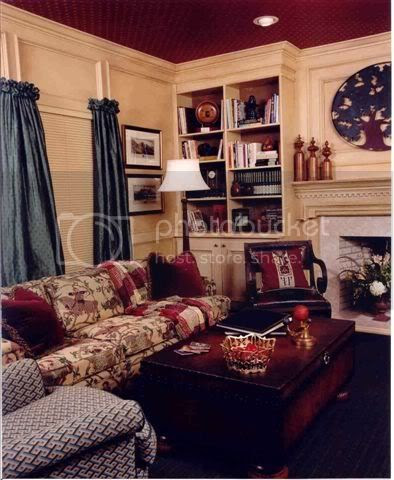 English Country Homes Living Room Home Decor | mervin-diecast