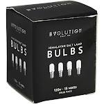 Evolution Salt Company Himalayan Salt Lamp Bulbs 120v 15 watts 4 Pack
