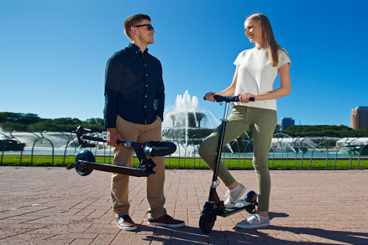 Glion Dolly Foldable Electric Scooter - from DT Scooters