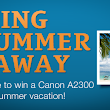 BuyVia: Sign up for a chance to win a Canon Digital Camera!