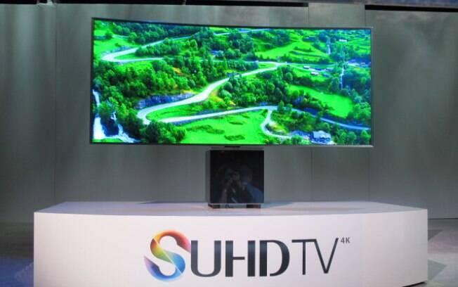 Samsung anunciou a estreia do sistema Tizen em suas TVs. Foto: Emily Canto Nunes/iG São Paulo
