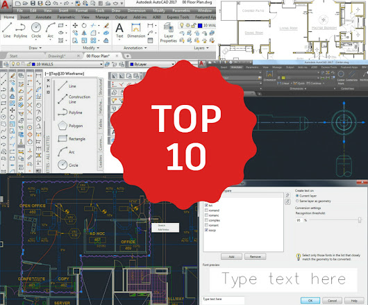 Not to Miss! Top 10 AutoCAD Blog Articles in 2016